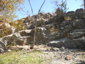 Perry Rock Outcropping Quarry side 2