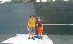 Tennis Backdrop Group