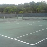 Perry Park Tennis Courts wide view